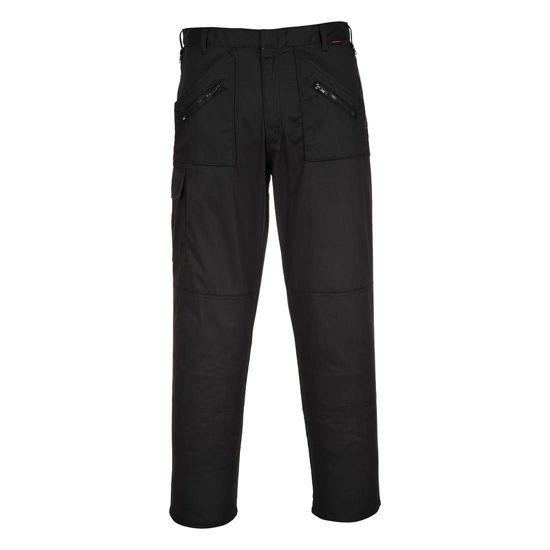 Portwest Action Trousers, Black