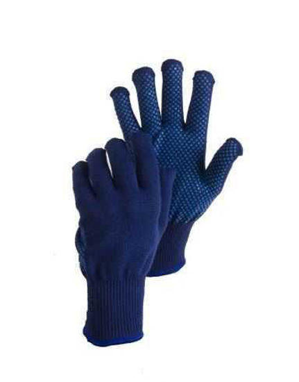 Bodytech Navy Thermal Gloves with Dots