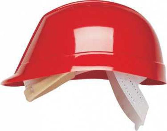 Bumpmaster Helmet W/ HDPE Harness, Red No Sweatband