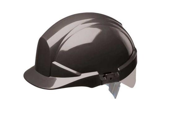 Centurion Reflex Helmet Black with Silver Strip