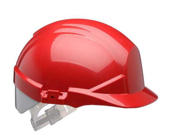 Centurion Reflex Helmet Red with Silver Strip