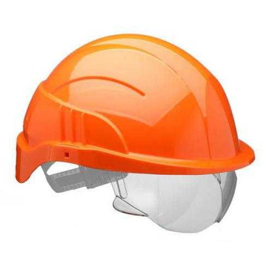 Centurion Vision Plus Helmet With Visor, Orange