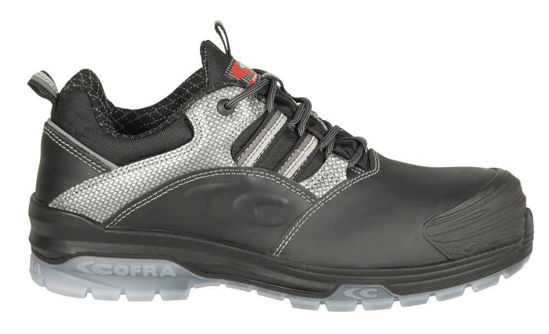Cofra Caravaggio Black Metal Free Safety Trainers, S3 CI SRC, Size UK 8