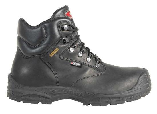 Cofra Hurricane S3 Black Laced Boot, Gore-Tex