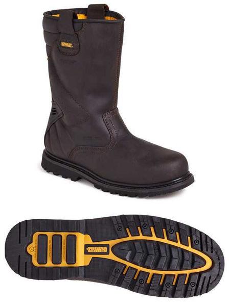 Dewalt Rigger Brown Boot