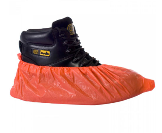 Disposable Red Overshoes, 2000/Case