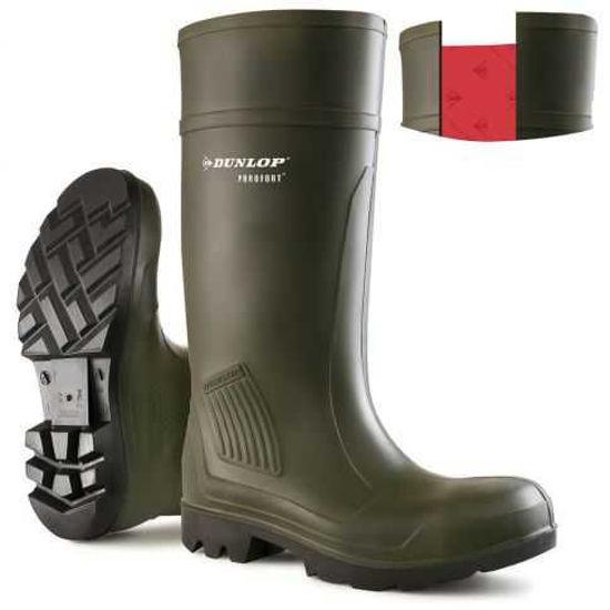 Dunlop Purofort Professional Green Soft Toe