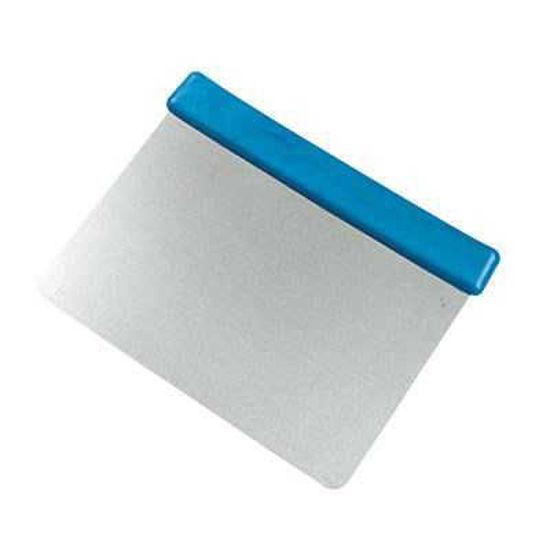 Flexible 125mm Stainless Steel Scraper, Blue