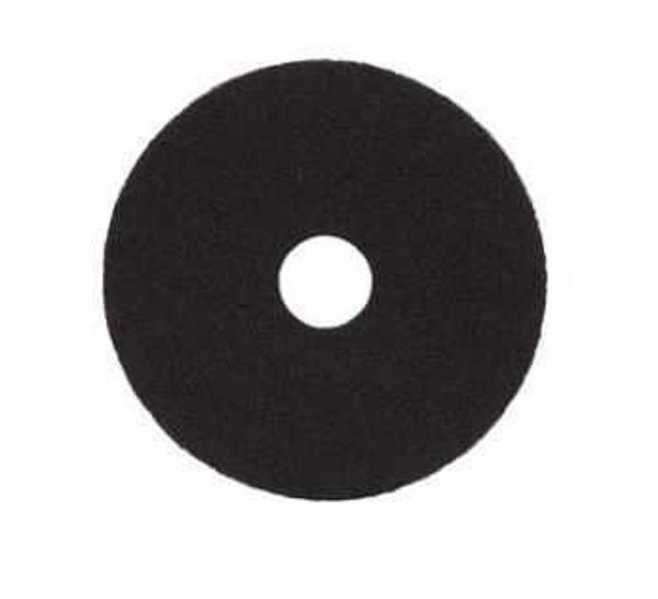 "Floor Pad Standard, 19"", Black"