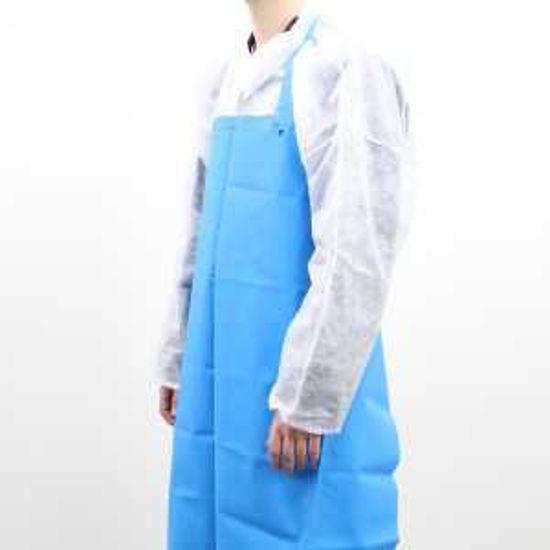 Foodgrade Apron, TPU Material, Blue