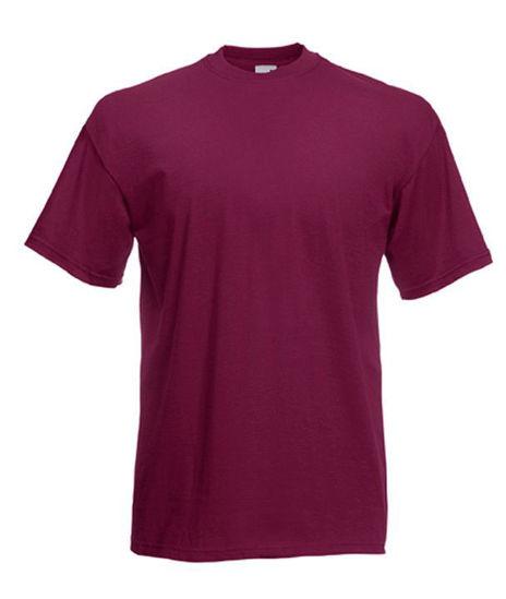 Fruit Of The Loom T-Shirt, Burgundy