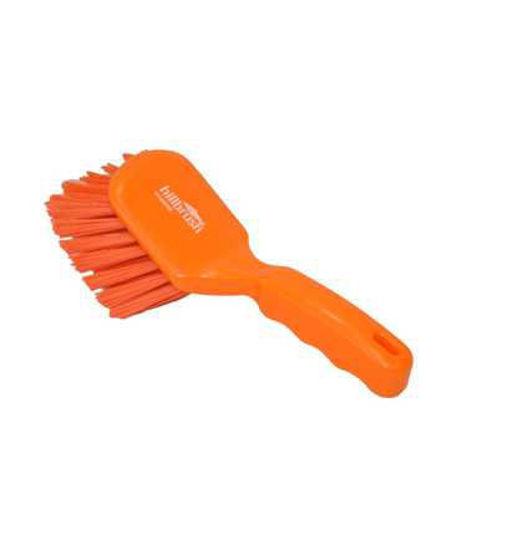 General Purpose Short Handle Brush, Orange