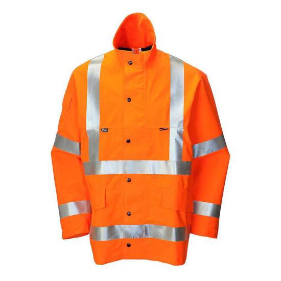 Goretex Coat, Orange