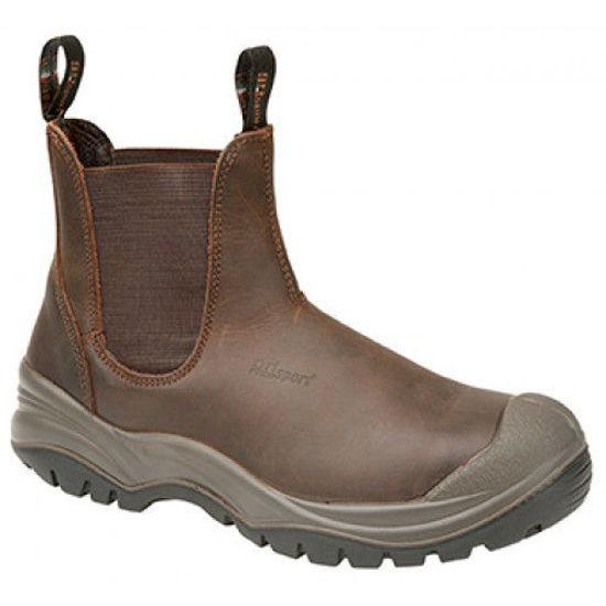 Grisport Chukka Slip On Boot, Brown
