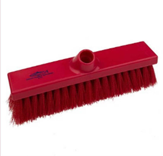 Hillbrush Premier Soft 280mm Sweeping Broom, Red