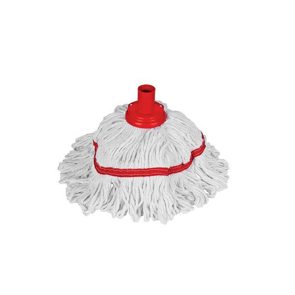 350g Hygiemix Socket Mop , Red
