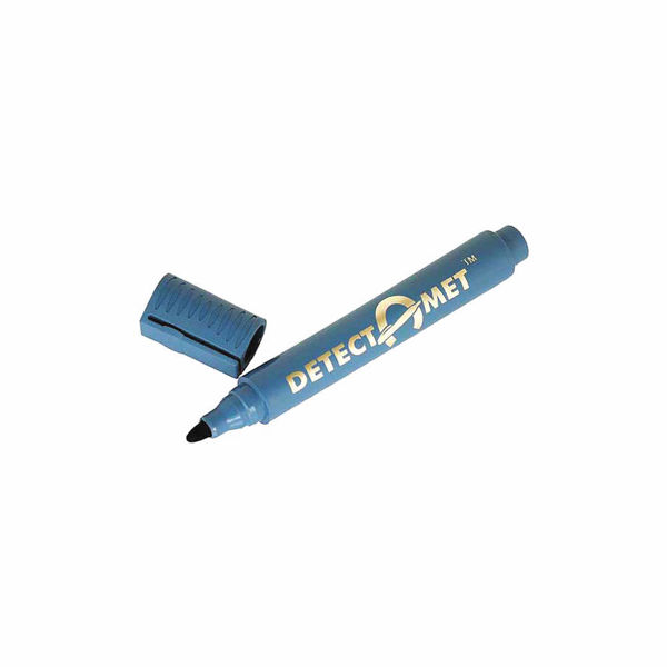 Picture of DETECTABLE PERMANENT MARKER, BLACK INK NON-RETRACTABLE, CHISEL TIP