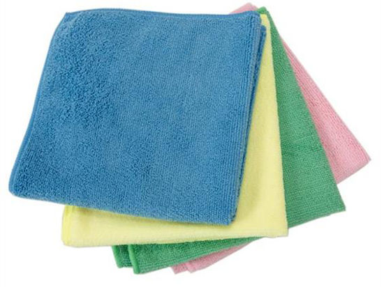 Picture of MICROFIBRE CLOTH 5/PACK WHITE