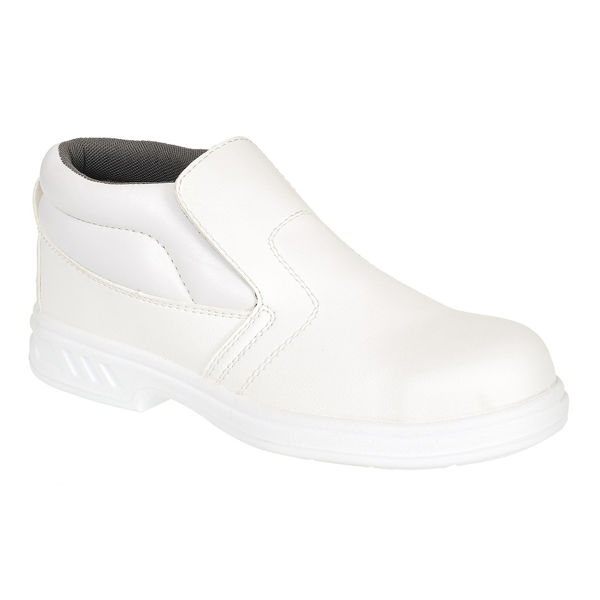 Picture of STEELITE SLIP ON SAFETY BOOT, WHITE SIZE:4