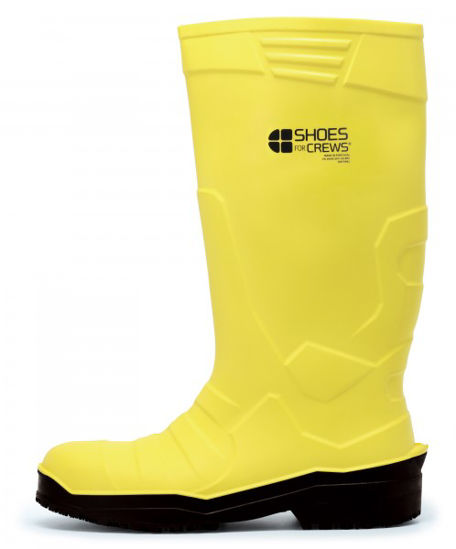 Picture of SHOES FOR CREWS PU WELLINGTONS YELLOW, EACH SIZE:9