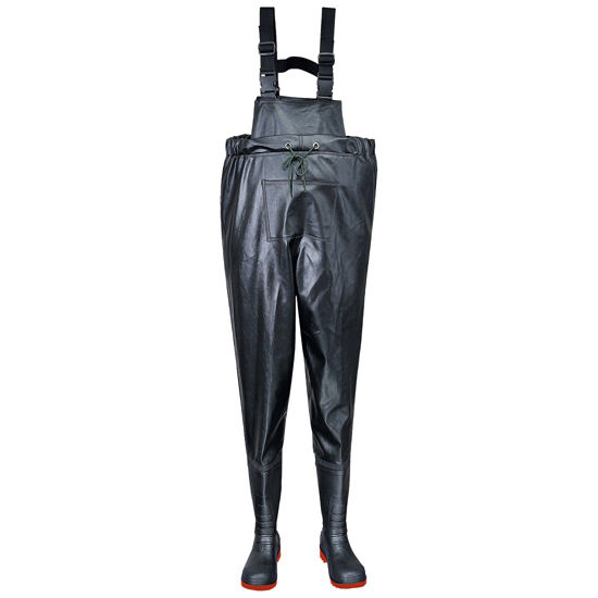 Picture of SAFETY CHEST WADER S5, BLACK,  SIZE: 5