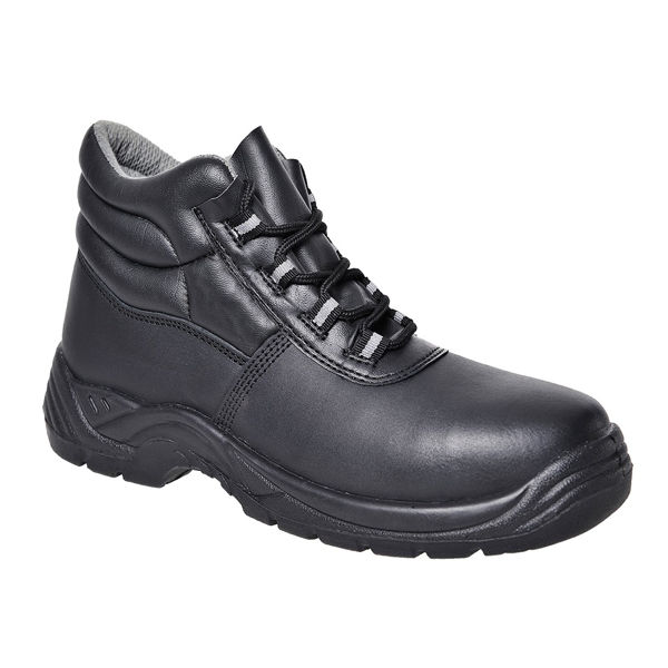 Picture of PORTWEST BLACK LACED COMPOSITE BOOT, S1P SIZE:5