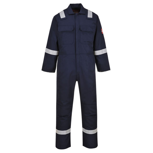 Picture of BIZWELD IONA FLAME RETARDANT COVERALL REFLECTIVE TAPE
