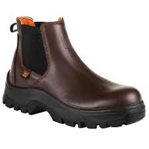Picture of NO RISK DENVER S3 SLIP-ON BOOT, BROWN