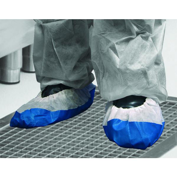 Deluxe Blue Overshoes,  800/Case