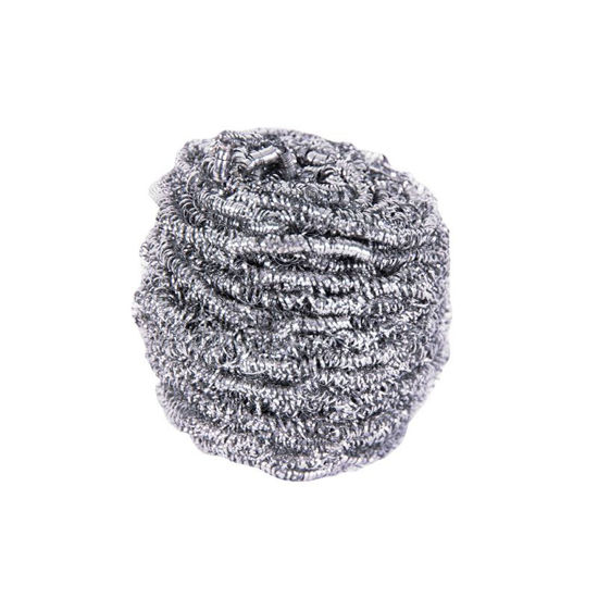 Picture of Stainless Steel Scourer, 10/Pack
