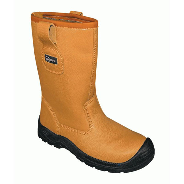 Picture of So Safe Fleece Lined Rigger Boot, Tan