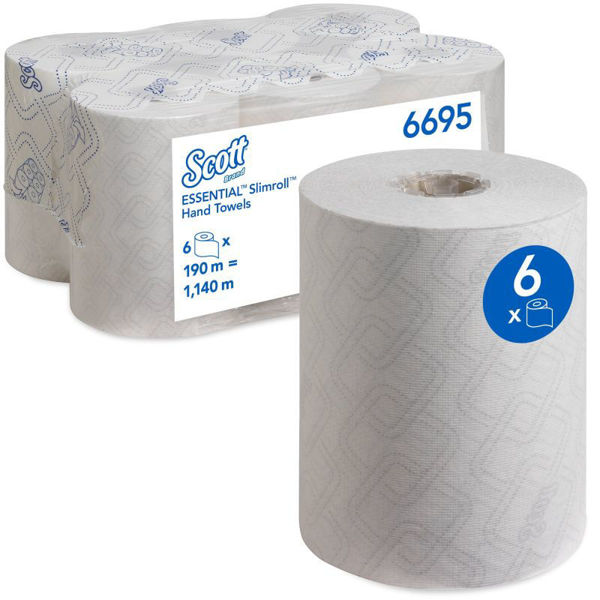 Picture of Scott® Essential  Slimroll, Hand Towels,  6/Case
