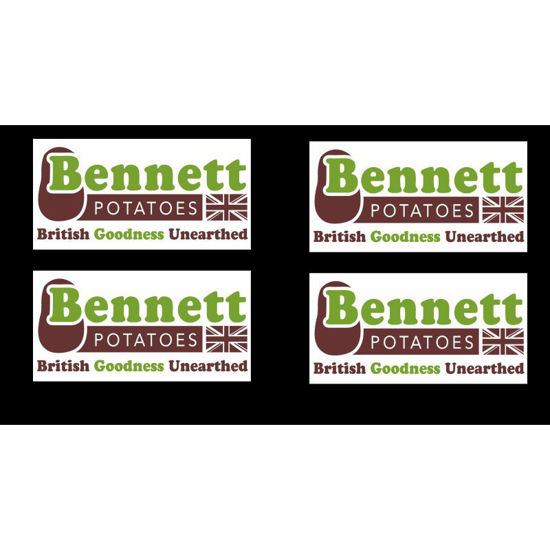 Picture of Bennett B27 on Left Breast red & green vests