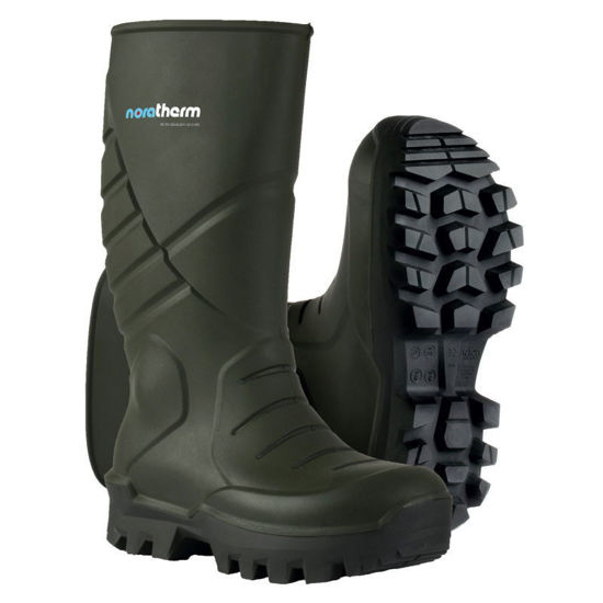 Picture of Nora Therm S5 Green Wellington, Size: 13 (48)