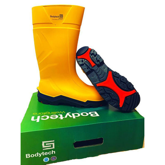 Picture of Bodytech Safegrip S4 Yellow Safety Wellington, SRC