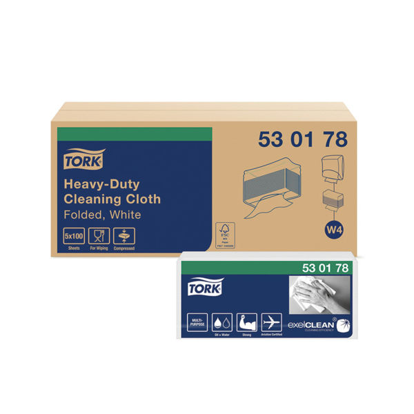 Picture of Tork Heavy-Duty Cleaning Cloth, Case