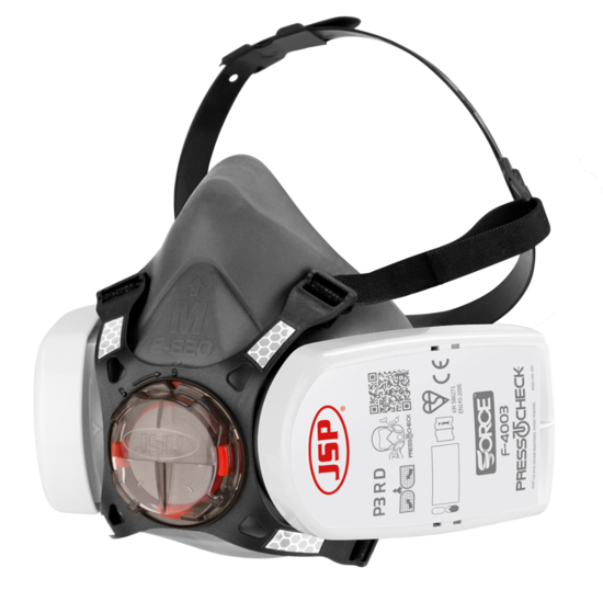 JSP Force™8 Half-Mask with PressToCheck™ - P3 Filters