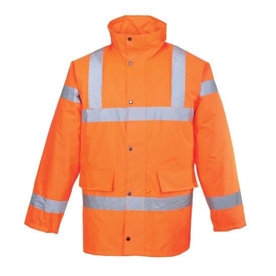 Portwest RT30 Hi Vis Traffic Waterproof Jacket RIS
