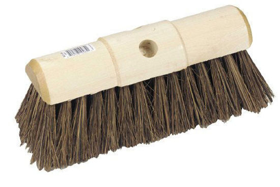 Picture of Stiff Wooden Yard Broom, 330 x 98mm