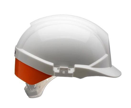Centurion Reflex Helmet with Silver Stripe, Grey
