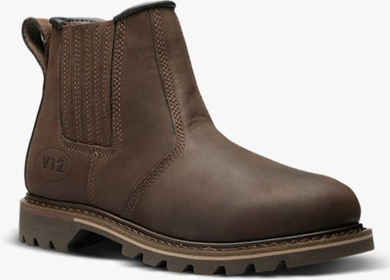 Picture of V1 Rancher Brown Dealer Boot, Non-Safety, Size 8