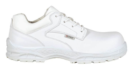 Cofra Stige White Laced Shoe S2 SRC