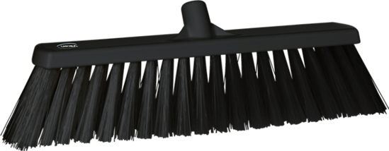 Broom, 530 mm, Very hard, Black