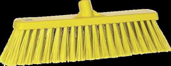 Picture of Vikan Stiff Broom, 530mm, Yellow