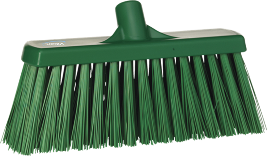 Picture of Vikan Broom, 330mm, Very hard, Green