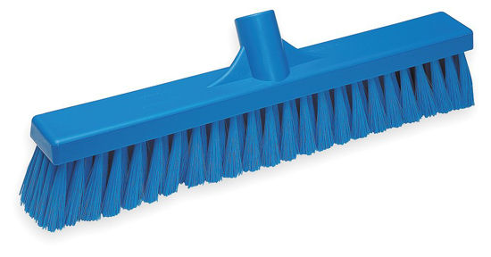 Picture of Vikan Broom, 410mm, Soft, Blue