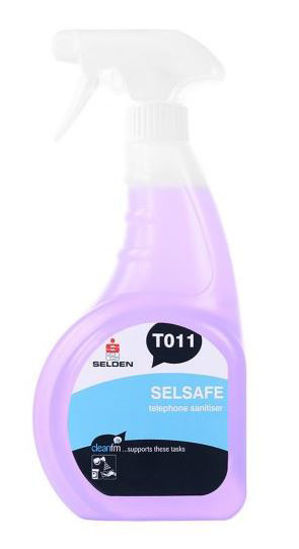 Picture of Selsafe Telephone Sanitiser Spray, 750ml