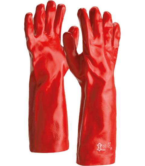 Picture of Sacobel Red PVC Gauntlet