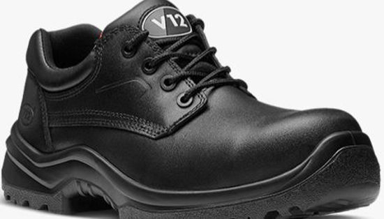 Picture of V12 Oxen Black Shoe Metal Free STS