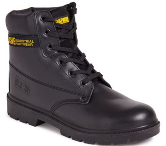 Picture of Apache Black Laced Safety Boot
